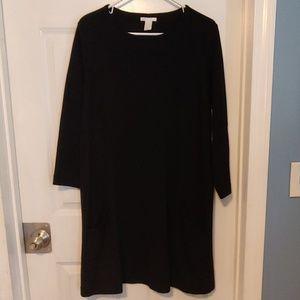 3/$15 H&M black dress large